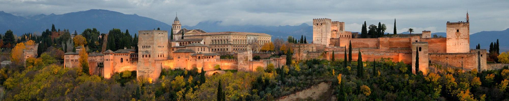 Castle in Alhambra, Spain